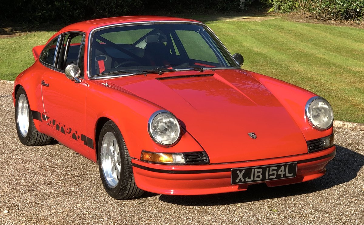 1972 PORSCHE 911E / 911 RS Evocation Uk example For Sale (picture 1 of 6)