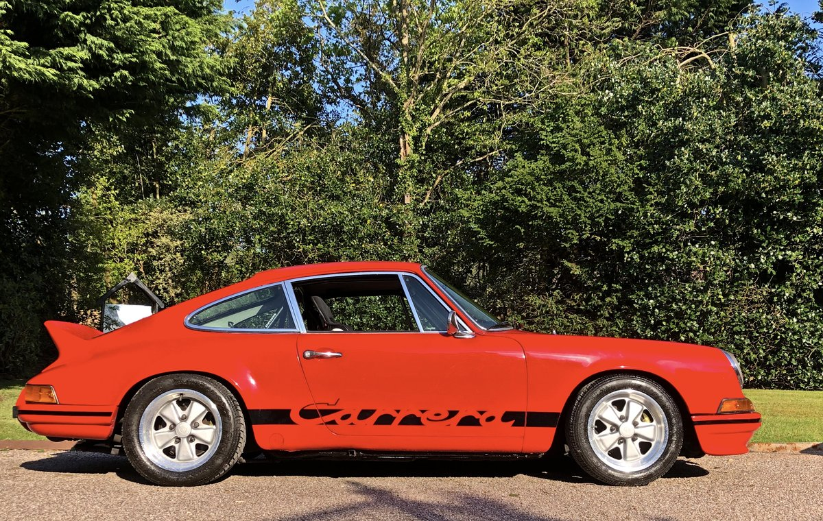 1972 PORSCHE 911E / 911 RS Evocation Uk example For Sale (picture 2 of 6)