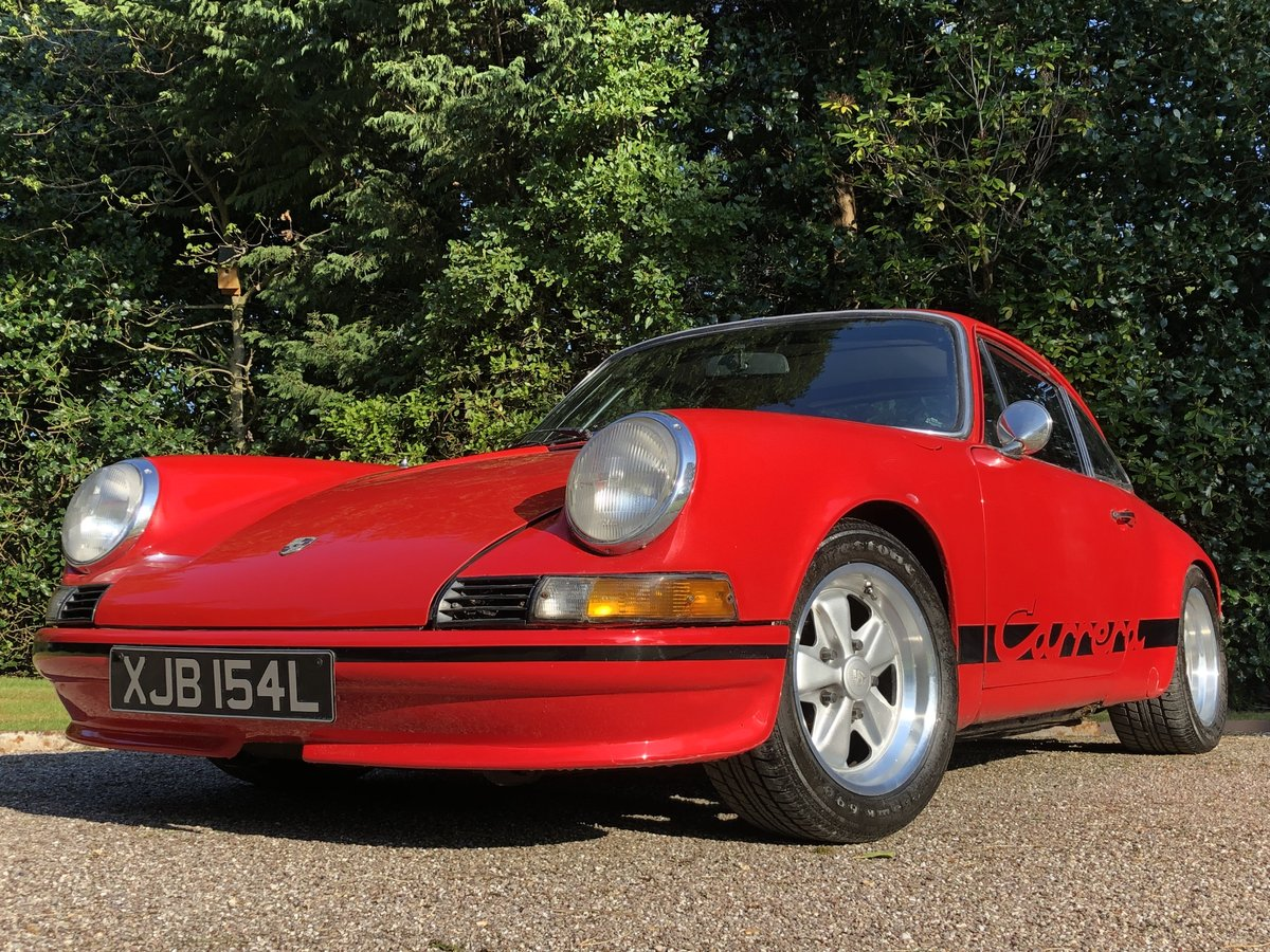 1972 PORSCHE 911E / 911 RS Evocation Uk example For Sale (picture 4 of 6)