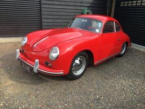 1957 Porsche 356A 1600 Super Coupé UK RHD For Sale