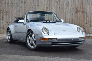 1995 Porsche 911 3.6 993 Carrera Cabriolet 2dr For Sale