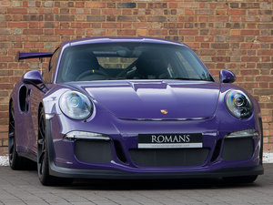 2016 Porsche 911 (991) GT3 RS-Extended Porsche Warranty-Del Miles