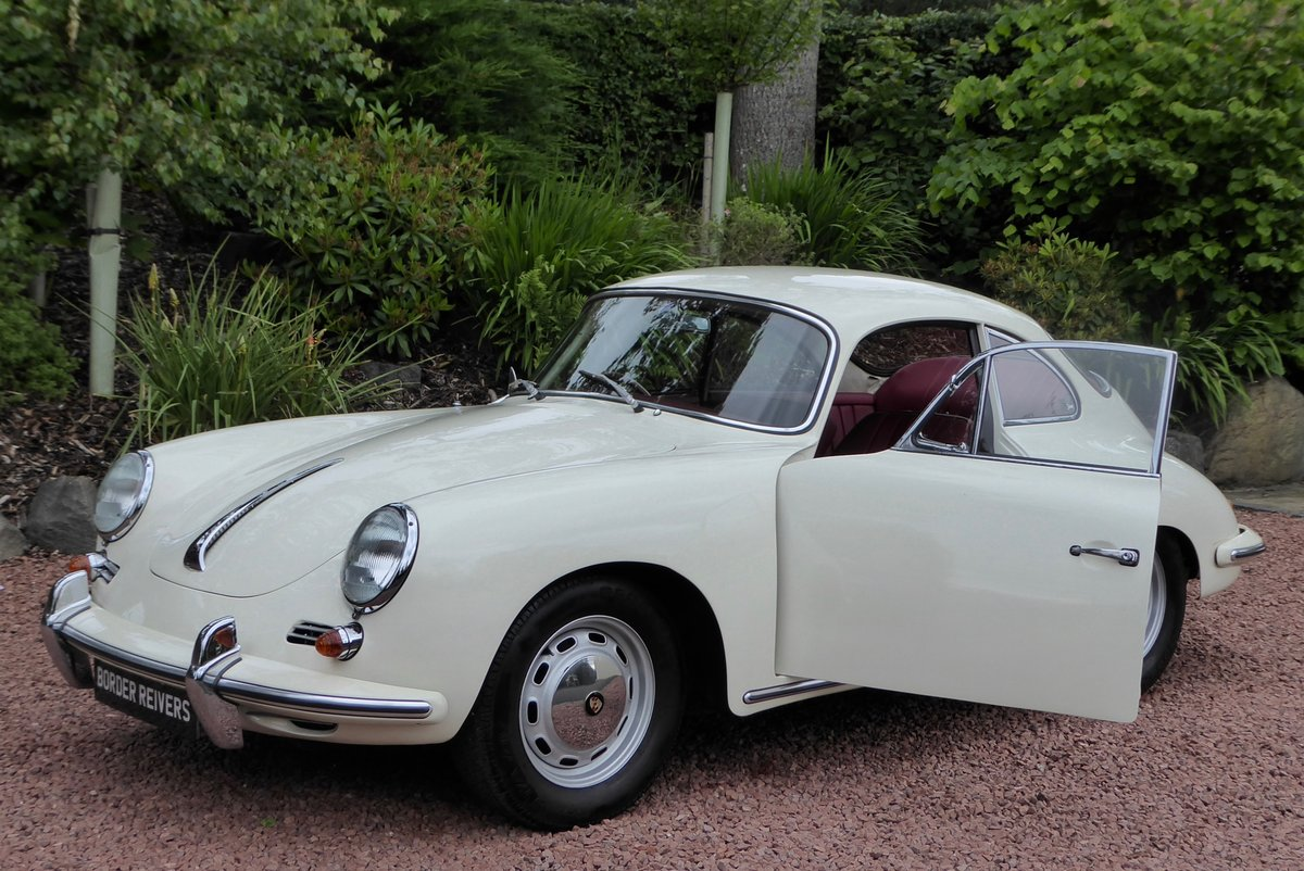 Porsche 356C Coupe 1964 Right hand drive, AFN Supplied For Sale (picture 1 of 6)