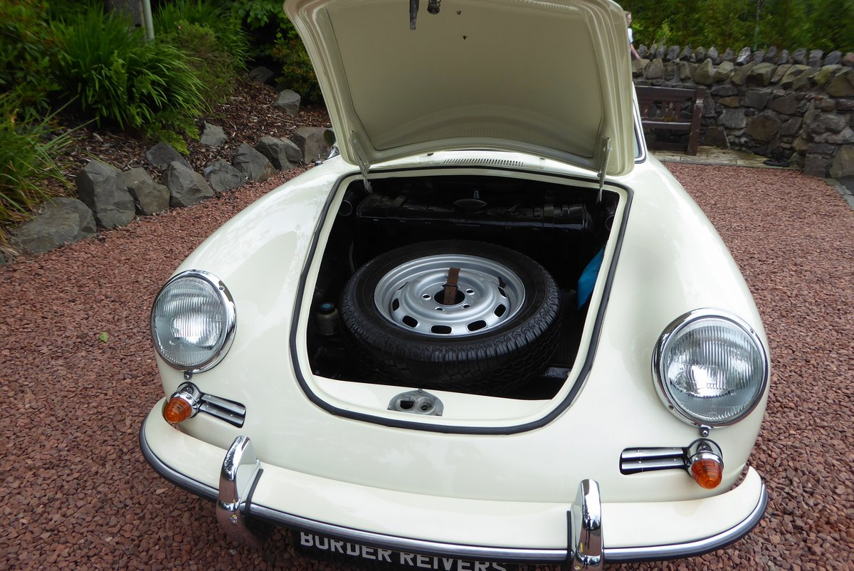Porsche 356C Coupe 1964 Right hand drive, AFN Supplied For Sale (picture 3 of 6)