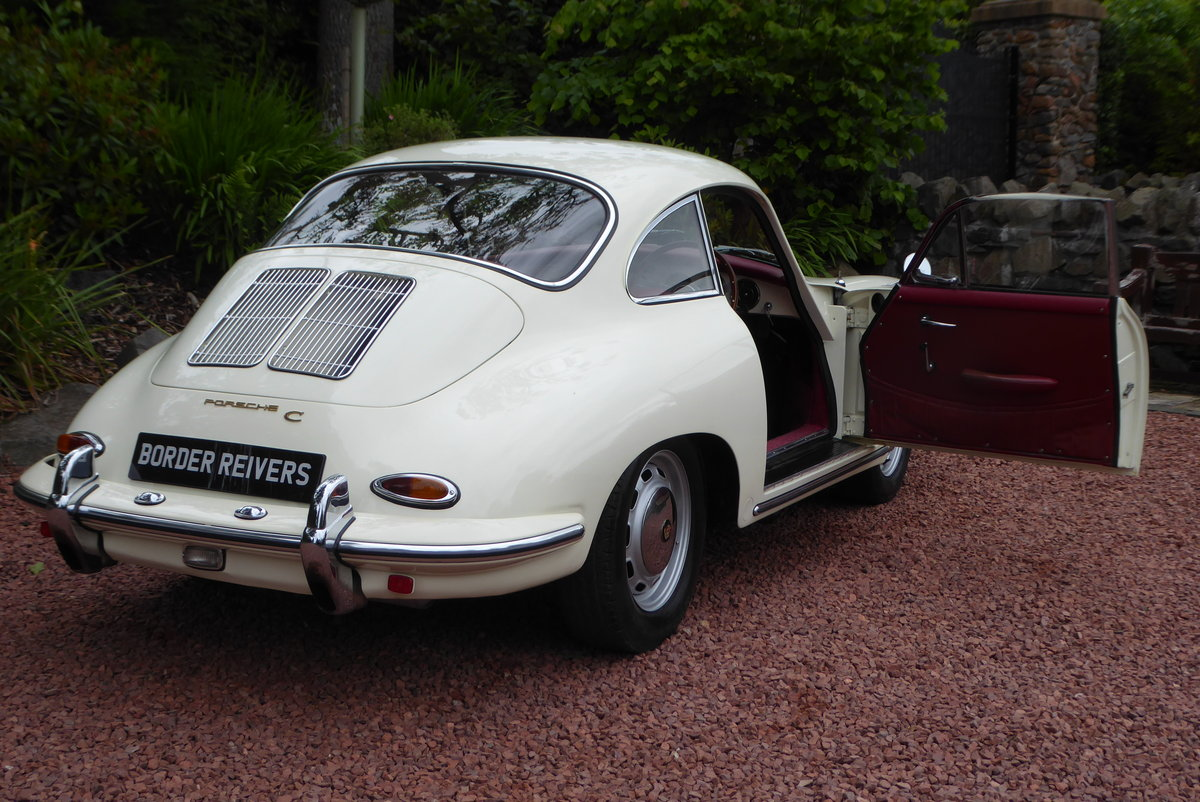 Porsche 356C Coupe 1964 Right hand drive, AFN Supplied For Sale (picture 4 of 6)