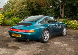1996 Porsche 911  993 Targa SOLD by Auction