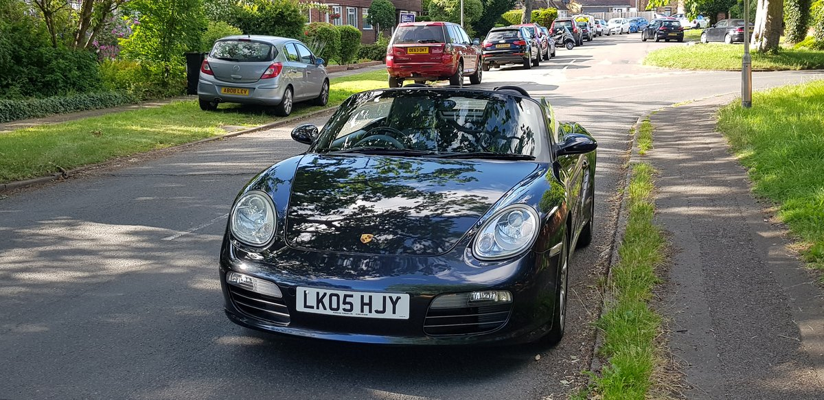 Porsche Boxster 2.7 2005  SOLD (picture 1 of 6)