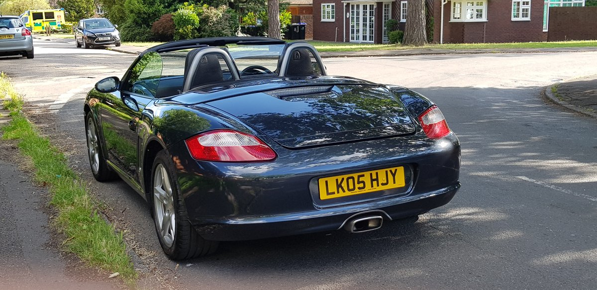 Porsche Boxster 2.7 2005  SOLD (picture 3 of 6)