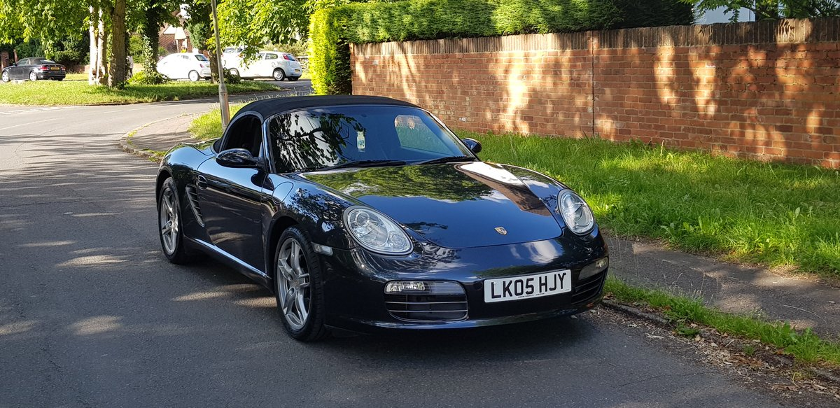 Porsche Boxster 2.7 2005  SOLD (picture 4 of 6)