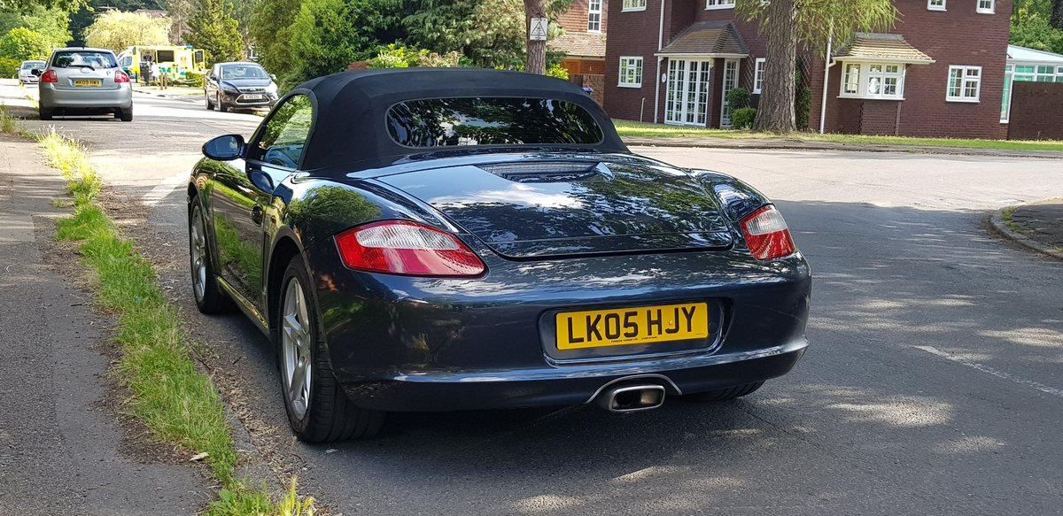 Porsche Boxster 2.7 2005  SOLD (picture 5 of 6)
