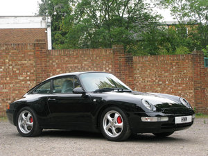 1994 PORSCHE  993 C2 COUPE - BLACK For Sale