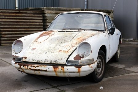 Porsche 912 1966 without engine, to be restored For Sale