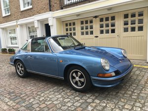 1972 Wonderful Porsche 911 2.4E Targa For Sale