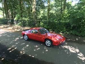 Porsche 928 Series 1 Manual 4.5 Guards Red