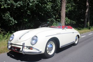 Stunning Porsche Speedster 356 A T1 Reutter Body from 1957 For Sale