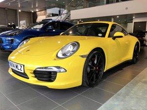 2014 Rare Car - 991 C4S Manual - Porsche Warranty 2021 For Sale