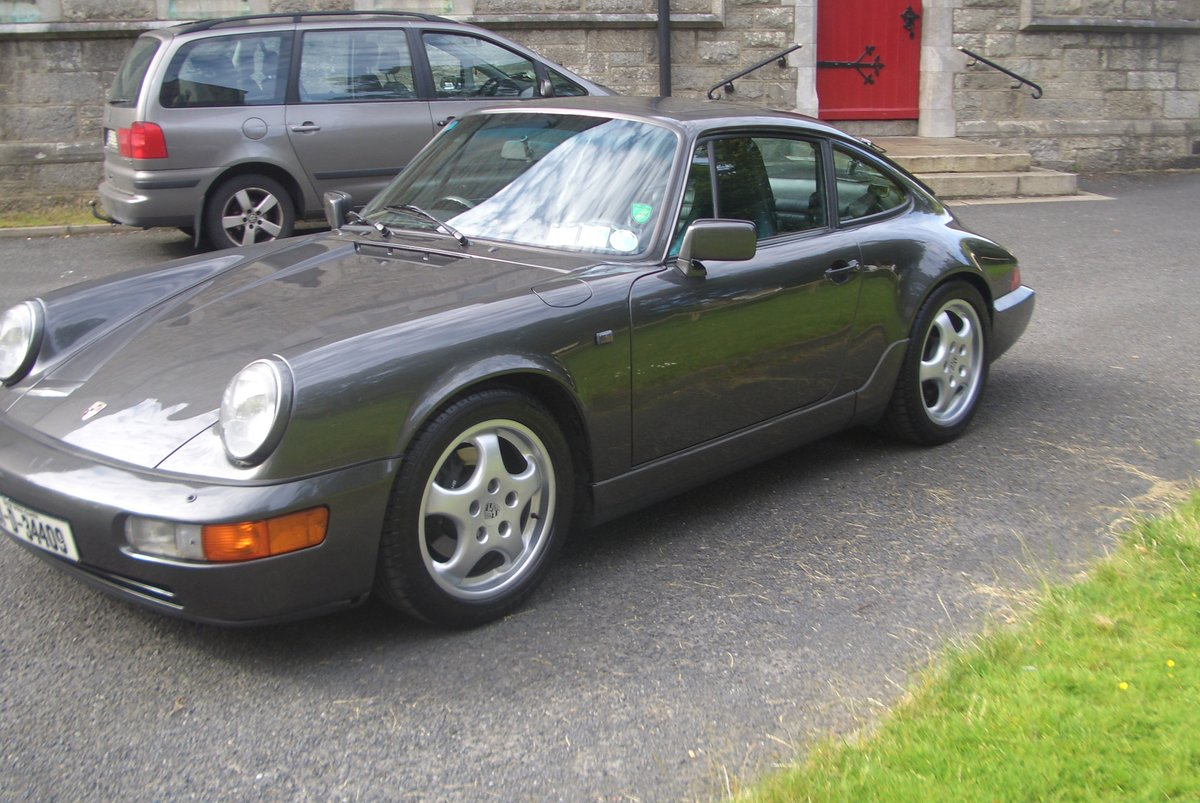 1991 Porsche 911 (964) Auto / Tip Gtey Metallic with Black hide For Sale (picture 3 of 6)