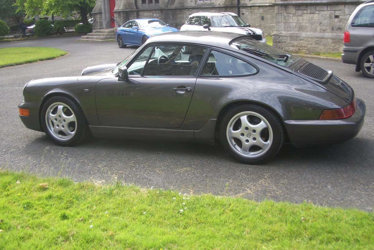 1991 Porsche 911 (964) Auto / Tip Gtey Metallic with Black hide For Sale (picture 4 of 6)