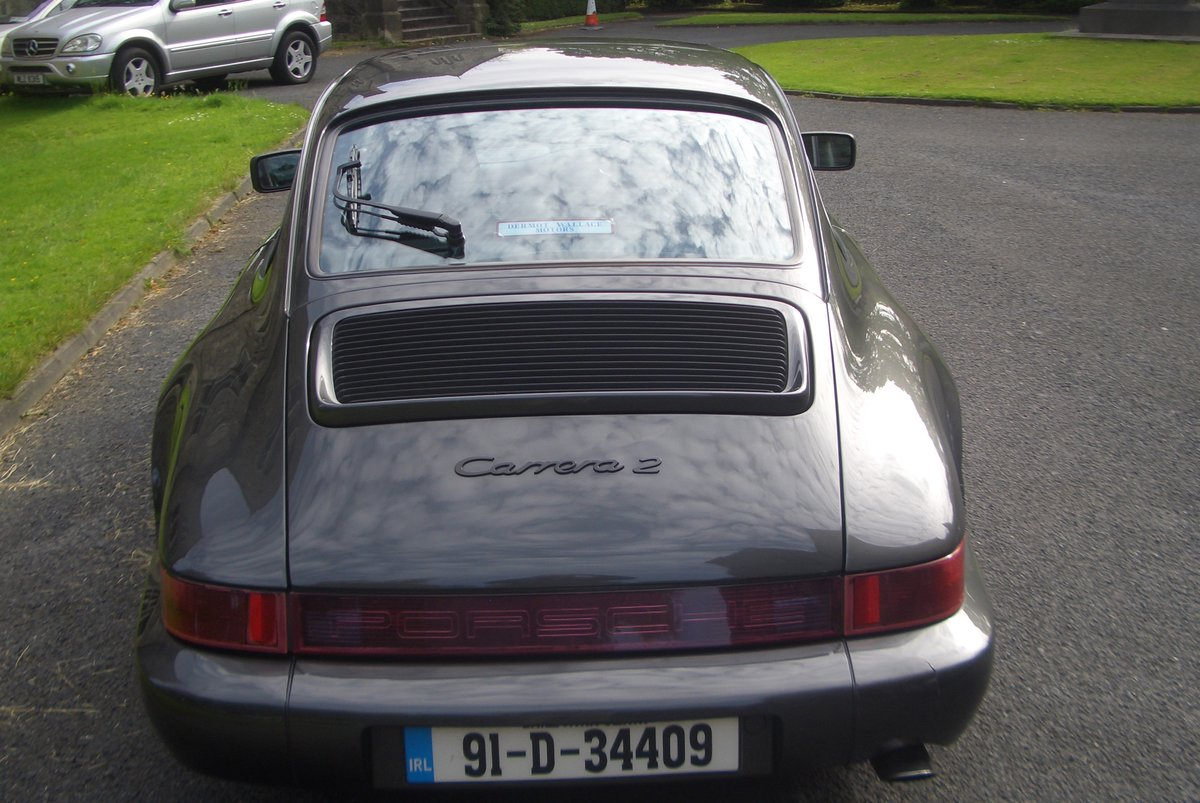 1991 Porsche 911 (964) Auto / Tip Gtey Metallic with Black hide For Sale (picture 6 of 6)