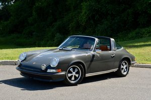 1973 Porsche 911 E Targa 2.4 = clean Gray(~)Tan $119.9k For Sale