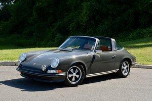 1973 Porsche 911 E Targa 2.4 = clean Gray(~)Tan $119.9k For Sale