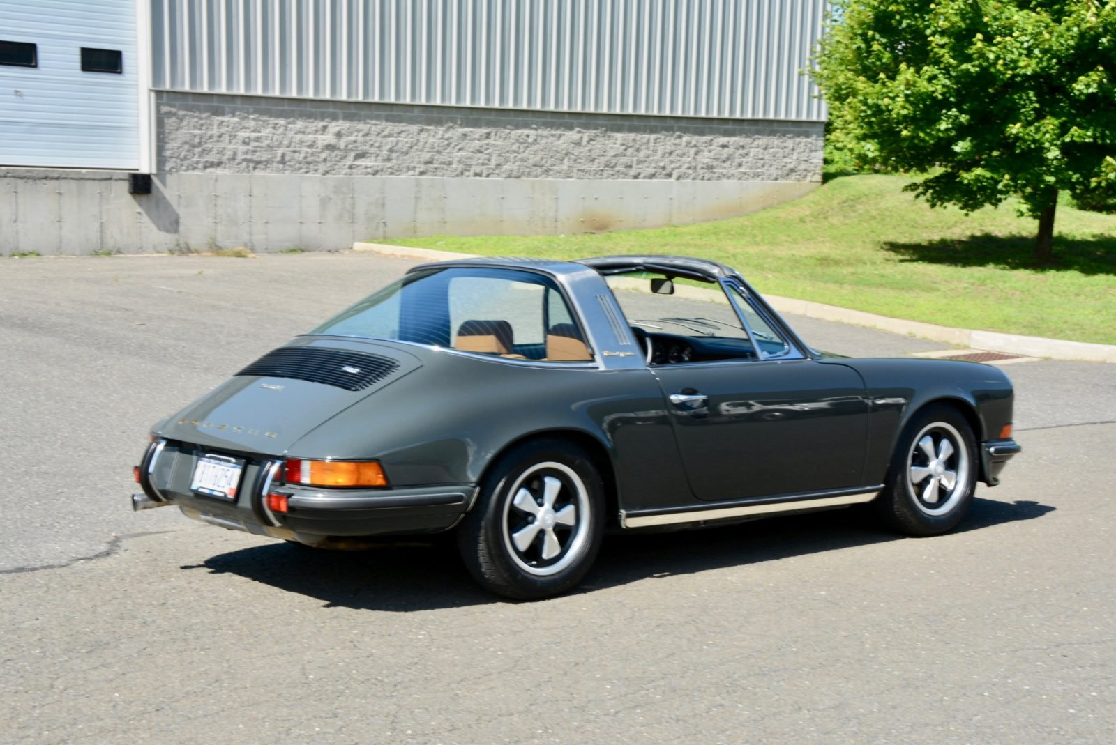 1973 Porsche 911 E Targa 2.4 = clean Gray(~)Tan $119.9k For Sale (picture 2 of 6)
