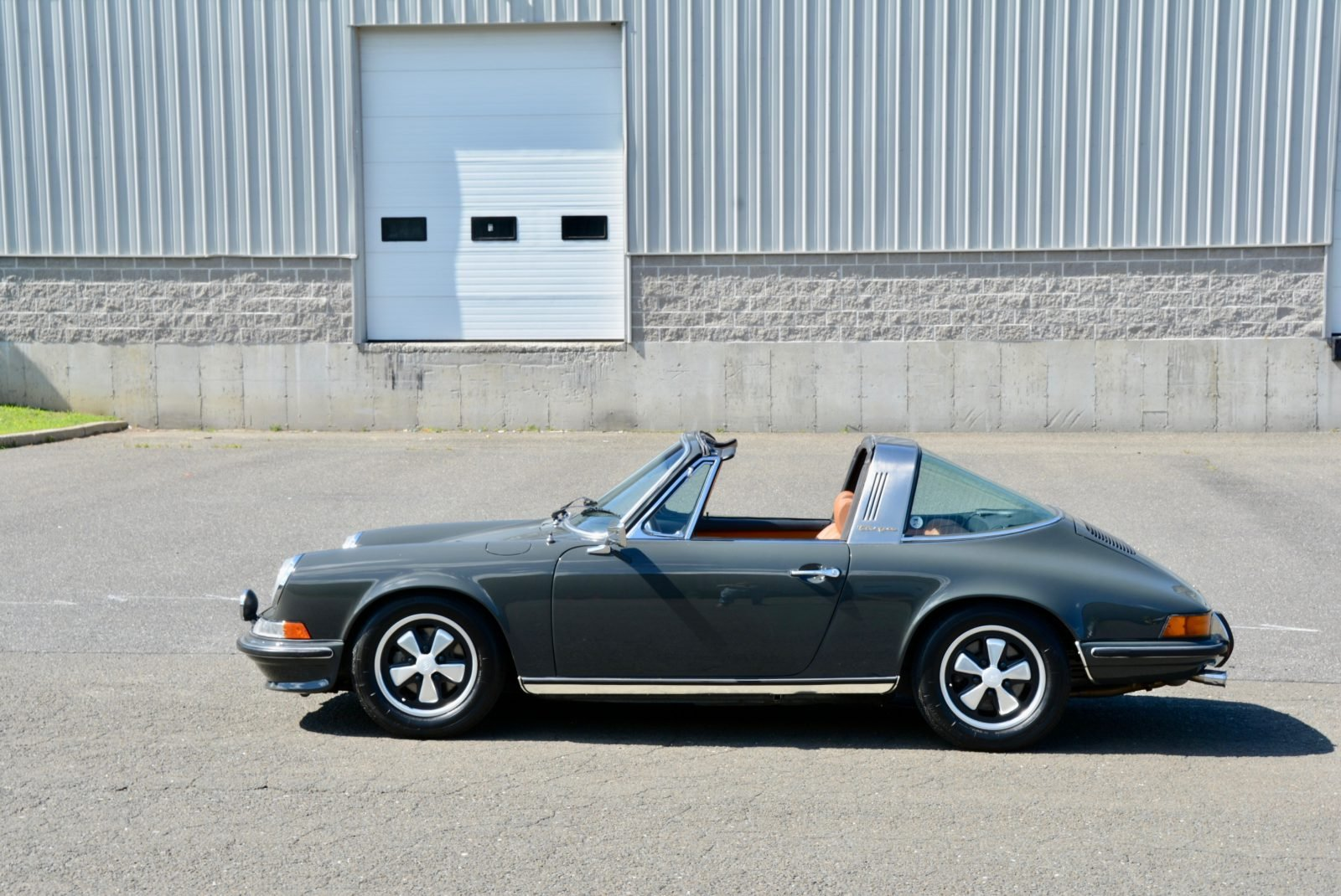 1973 Porsche 911 E Targa 2.4 = clean Gray(~)Tan $119.9k For Sale (picture 3 of 6)