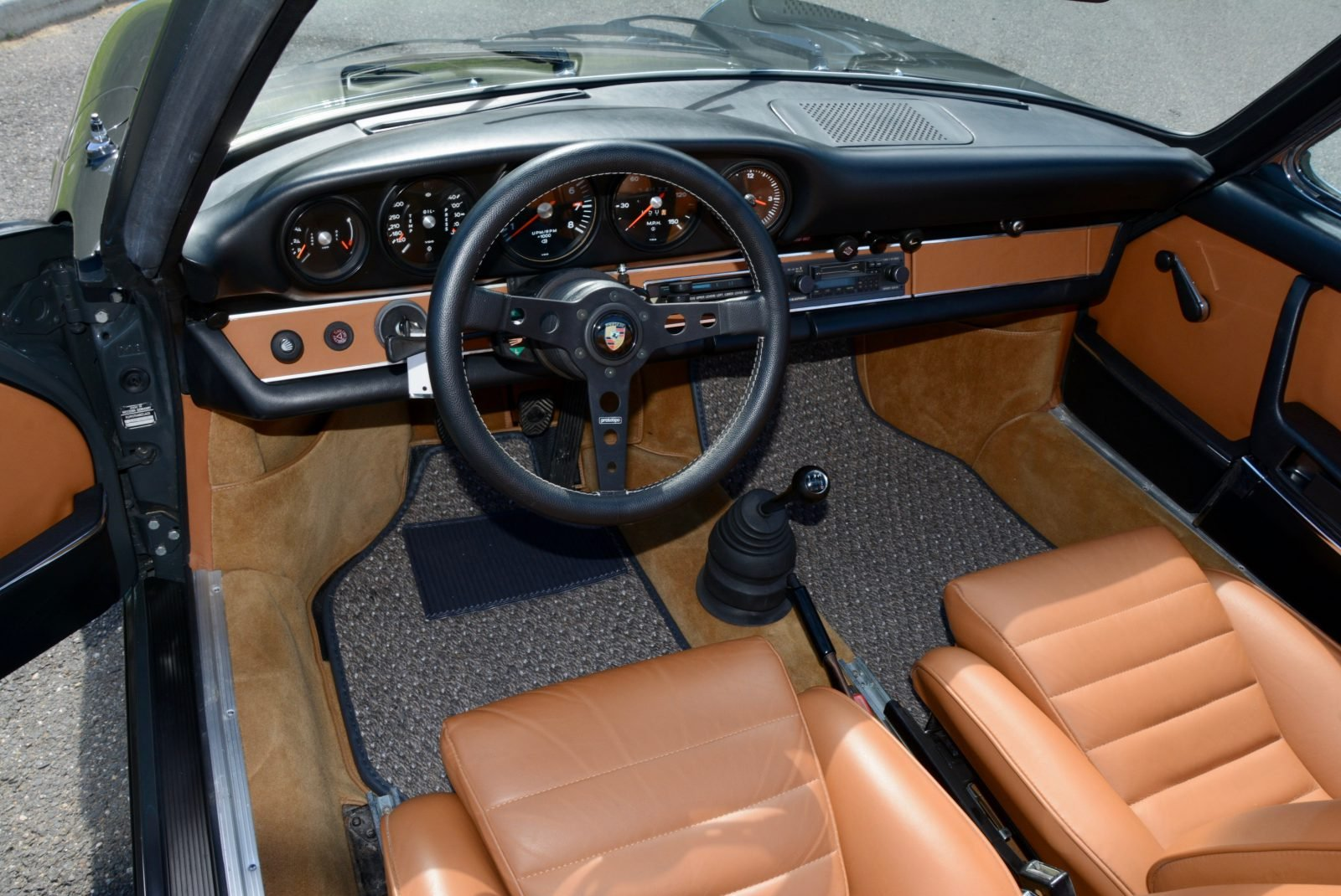 1973 Porsche 911 E Targa 2.4 = clean Gray(~)Tan $119.9k For Sale (picture 5 of 6)