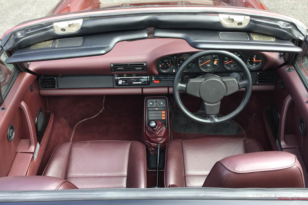 1986 Porsche 911 Carrera 3.2 Turbo-Look SSE Supersport Targa For Sale (picture 4 of 6)