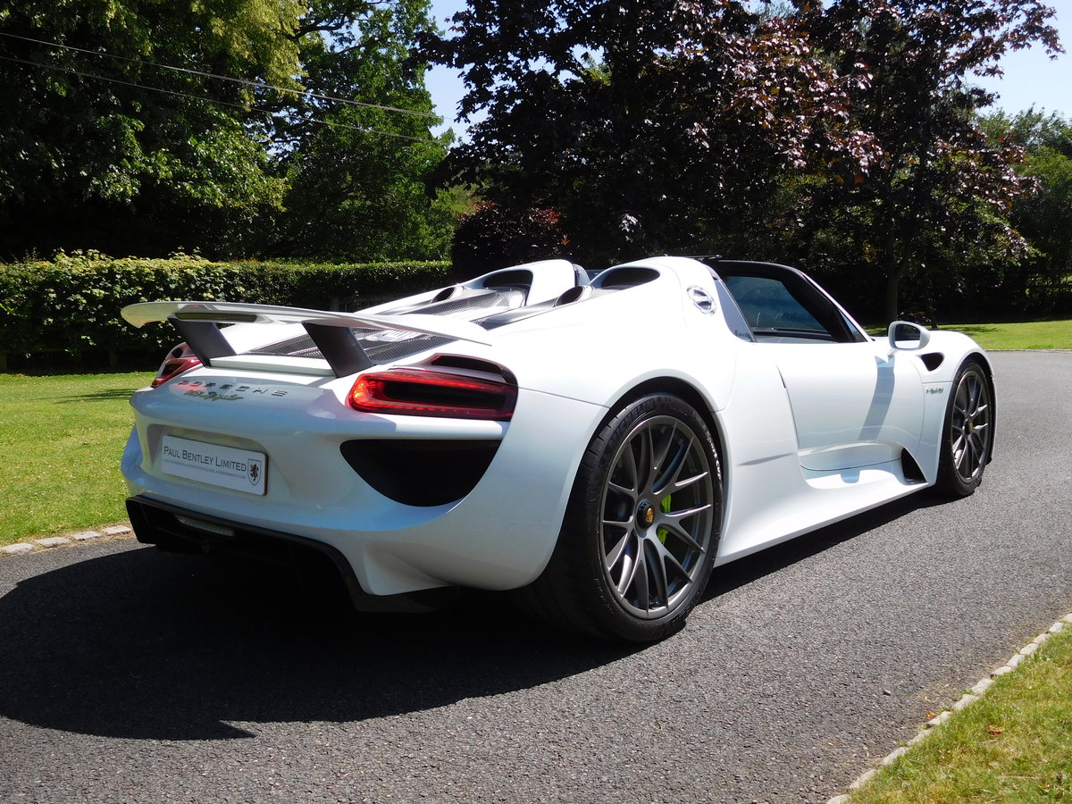 2015 Porsche 918 Spyder For Sale (picture 4 of 6)
