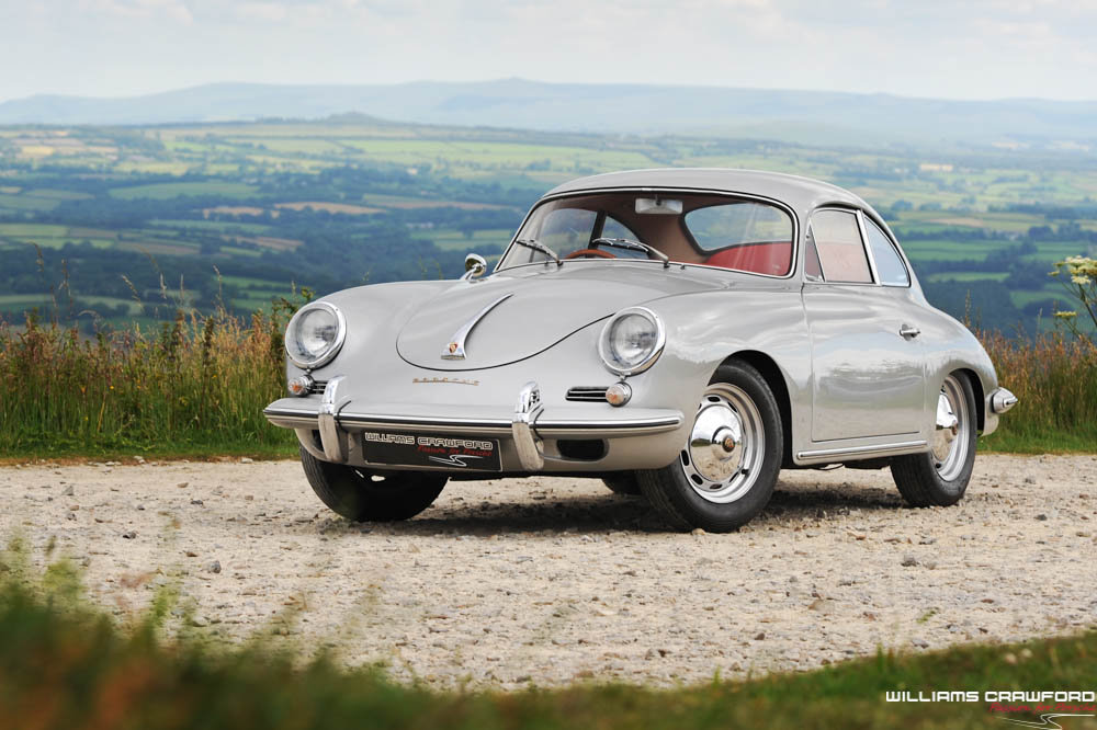 1960 Porsche 356 B T5 coupe, genuine RHD For Sale (picture 1 of 6)