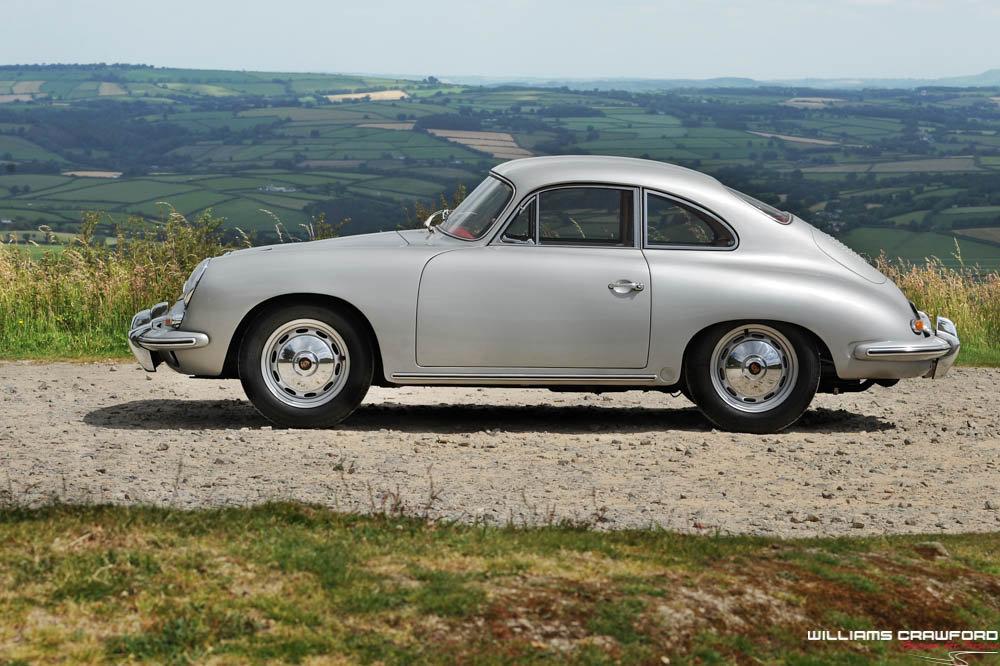 1960 Porsche 356 B T5 coupe, genuine RHD For Sale (picture 2 of 6)
