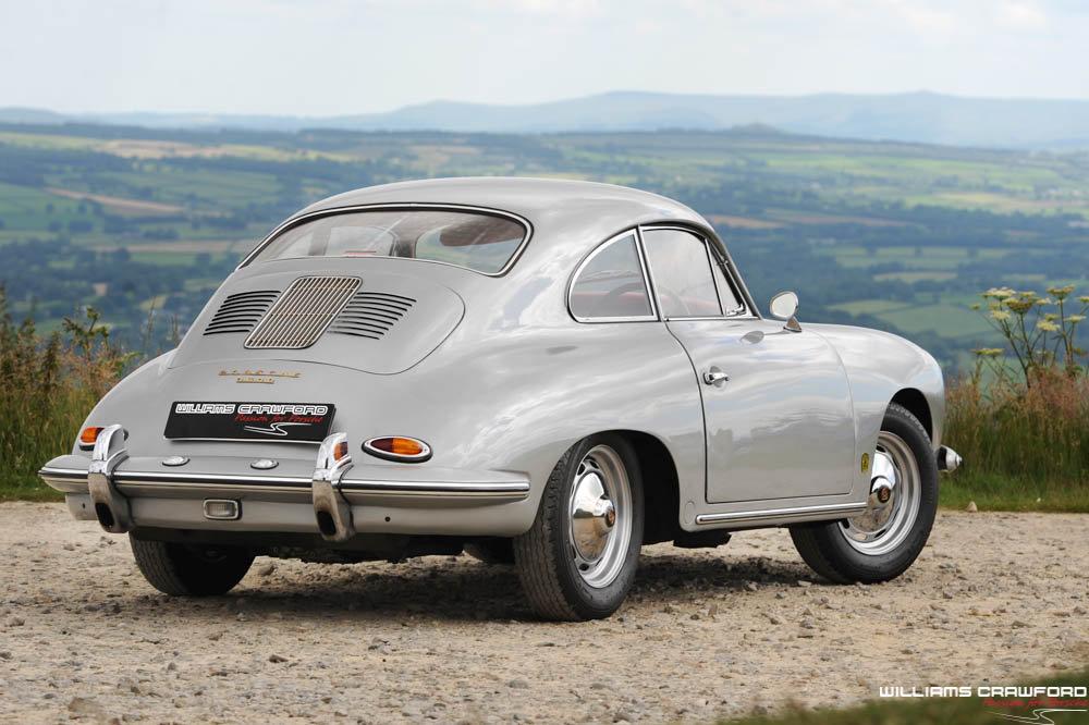 1960 Porsche 356 B T5 coupe, genuine RHD For Sale (picture 3 of 6)