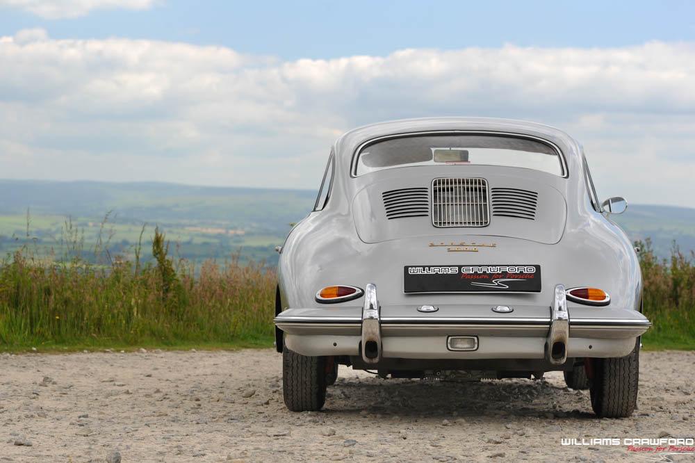 1960 Porsche 356 B T5 coupe, genuine RHD For Sale (picture 4 of 6)