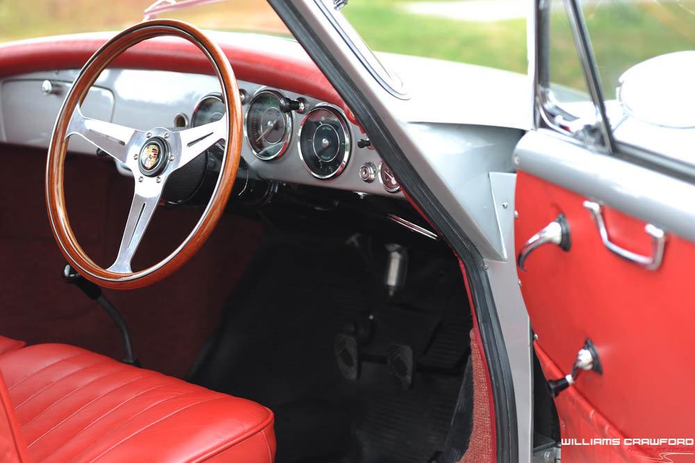 1960 Porsche 356 B T5 coupe, genuine RHD For Sale (picture 5 of 6)