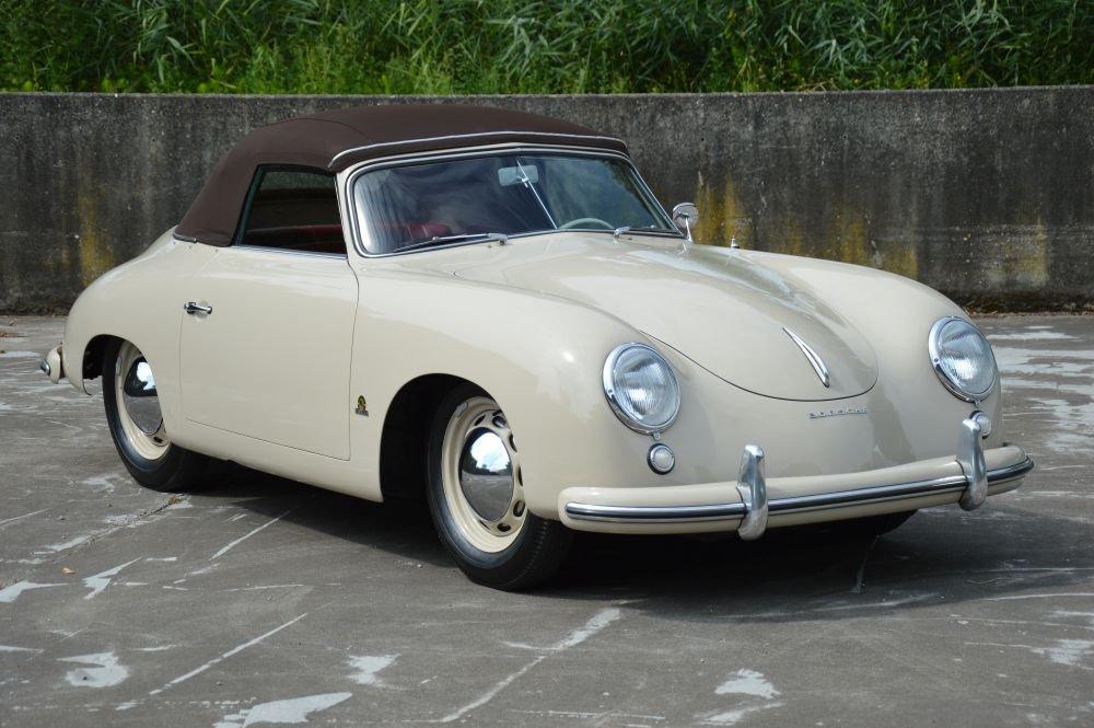 (1014) Porsche 356 pre A 1500 Knickscheibe - 1954  For Sale (picture 2 of 6)
