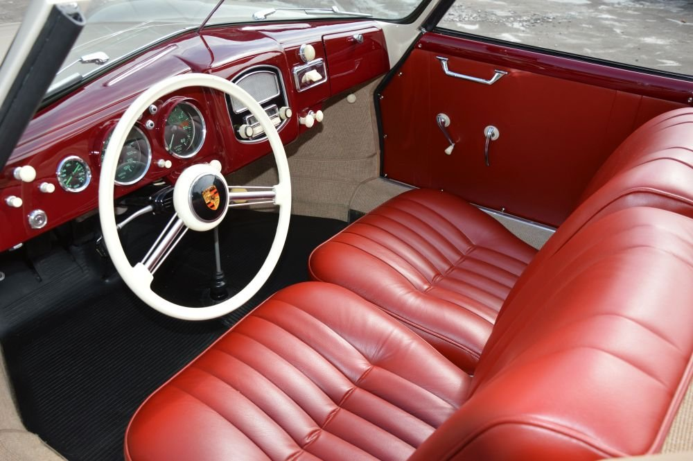 (1014) Porsche 356 pre A 1500 Knickscheibe - 1954  For Sale (picture 3 of 6)