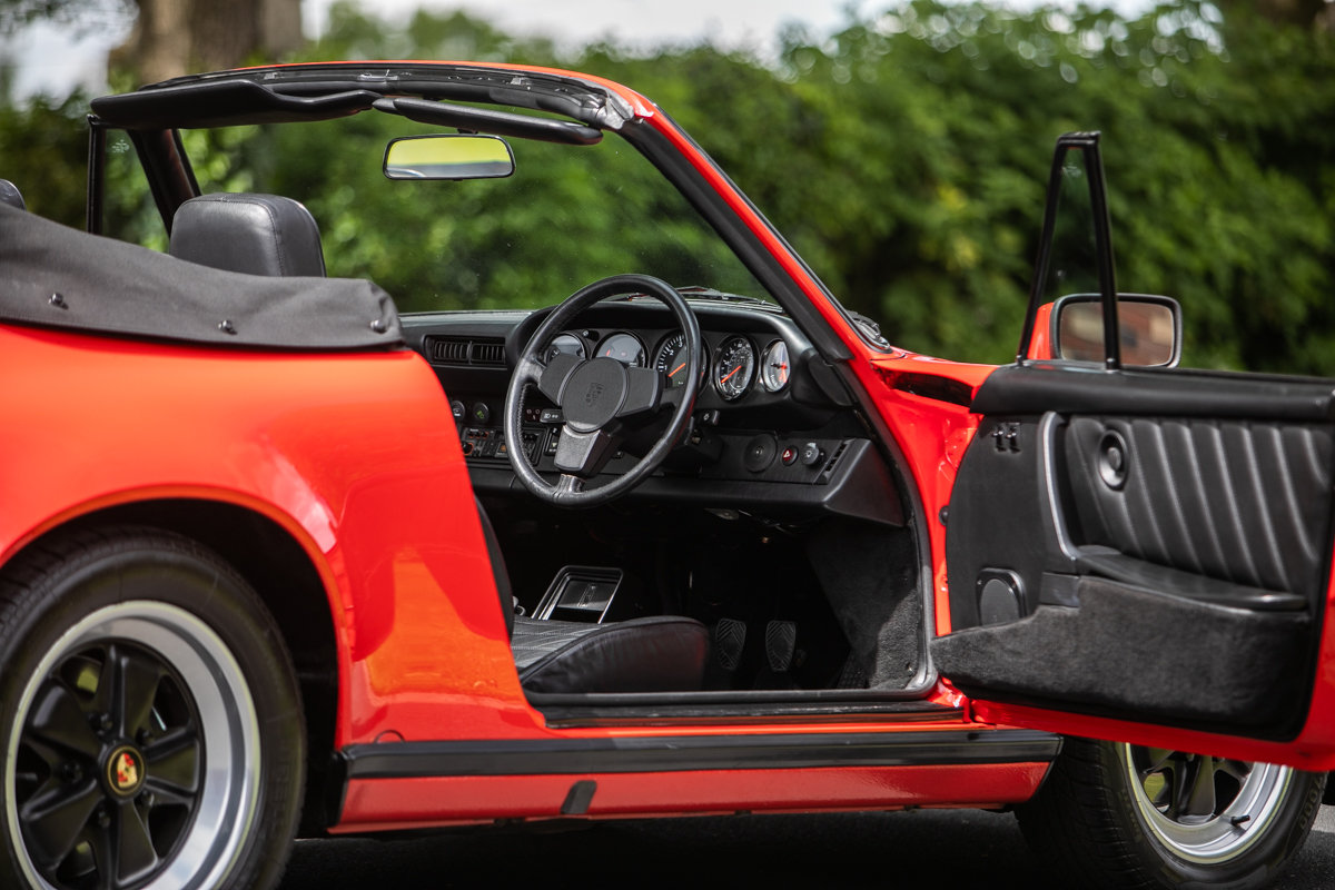 1983 Porsche 911 Carrera 3.2 Sport Cabriolet SOLD by Auction (picture 5 of 6)