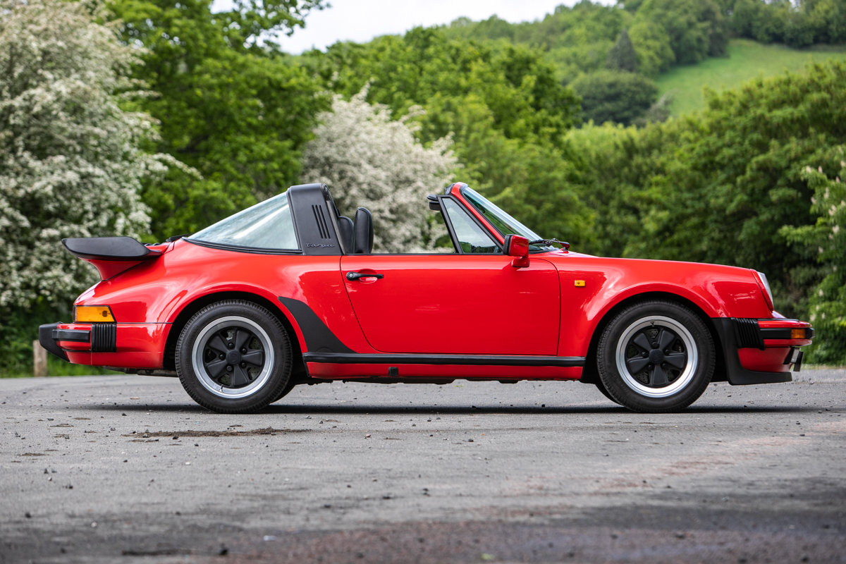 1989 Porsche 911 Carrera SSE Targa SOLD by Auction (picture 1 of 6)