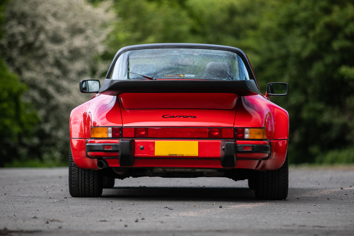 1989 Porsche 911 Carrera SSE Targa SOLD by Auction (picture 2 of 6)