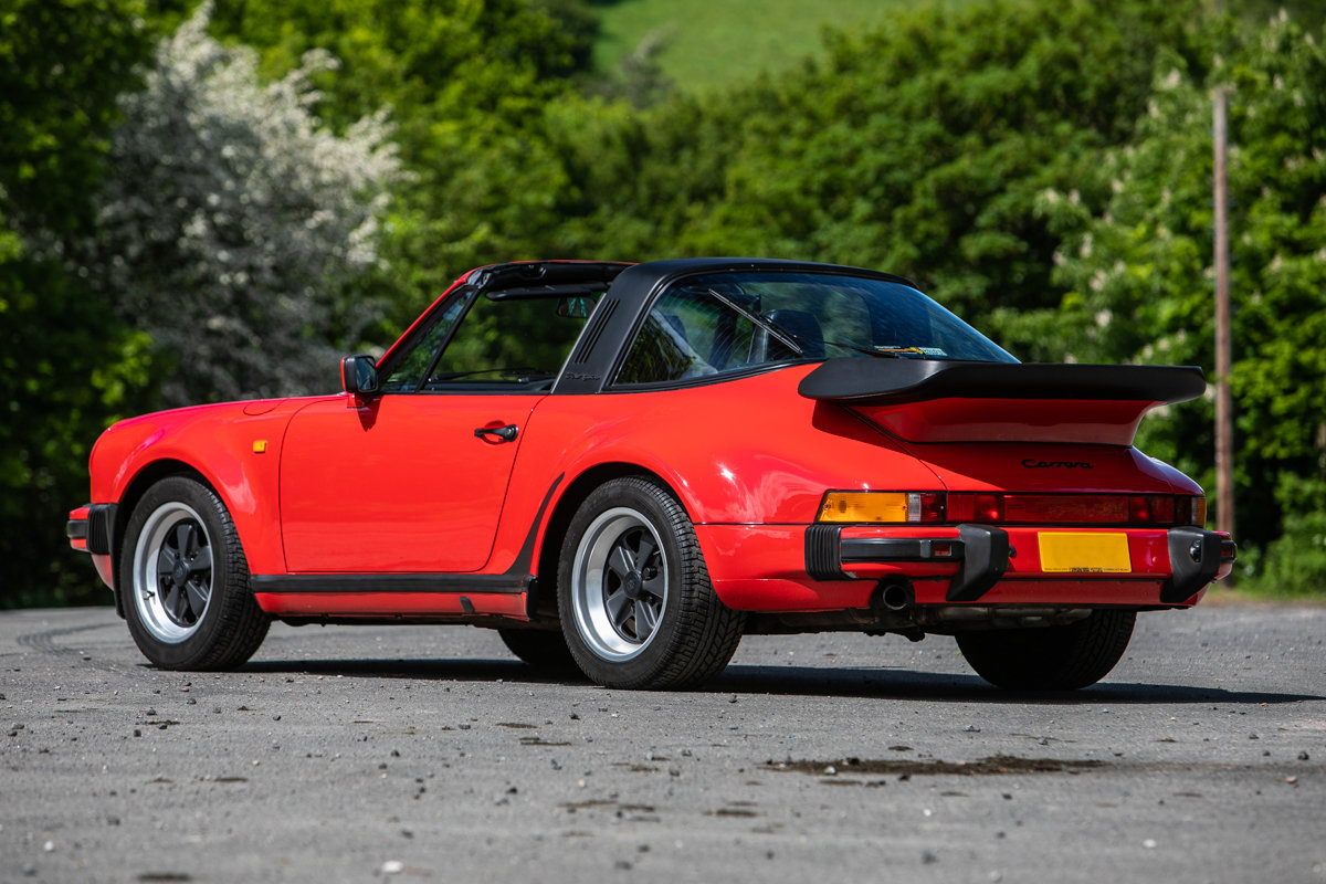 1989 Porsche 911 Carrera SSE Targa SOLD by Auction (picture 3 of 6)