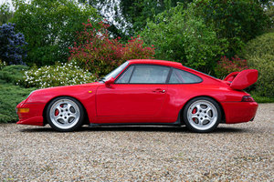 1995 Porsche 911 (993) RS Clubsport SOLD by Auction