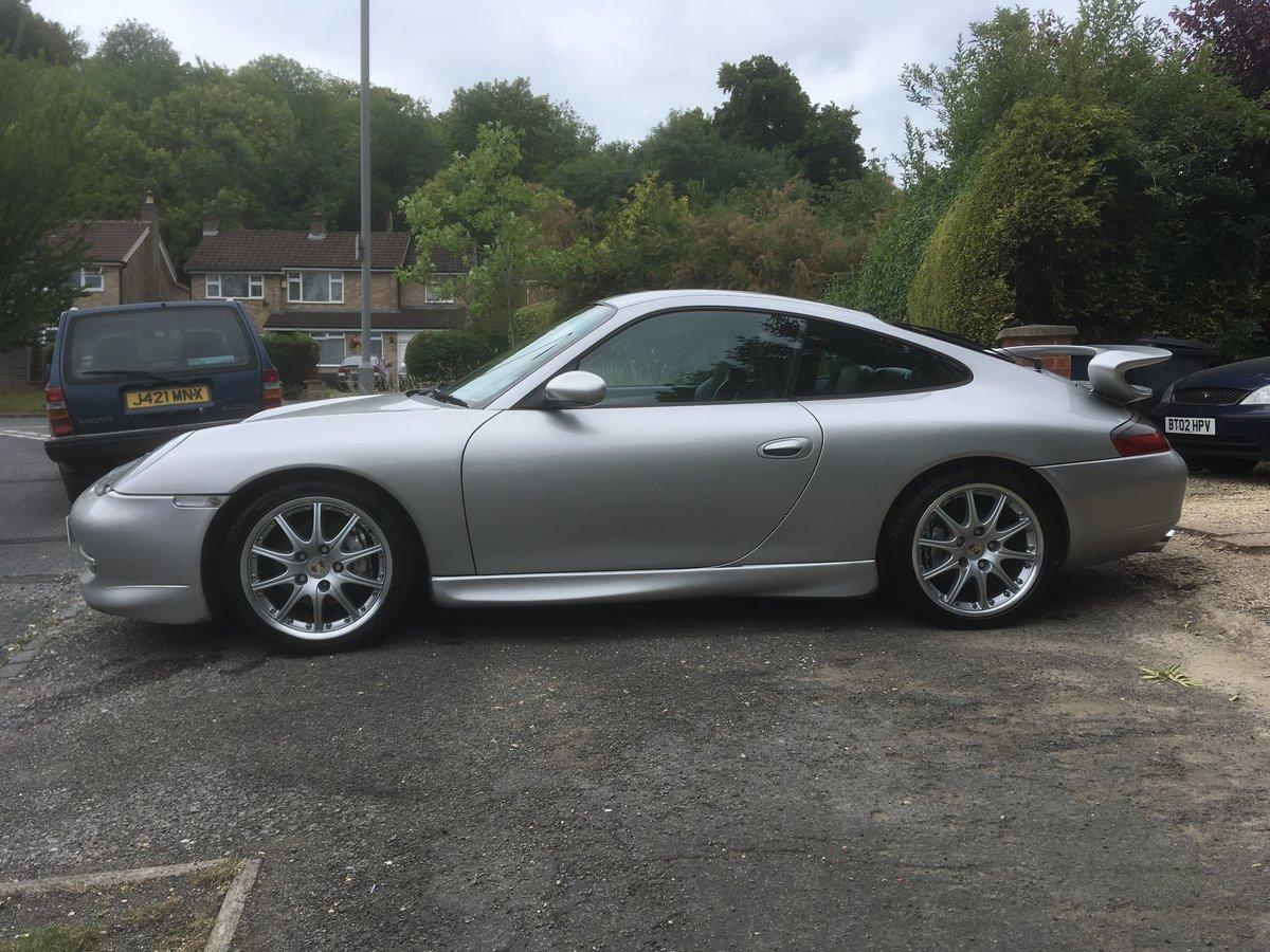 1998 Porsche 911-996 C4 GT3 Aero kit +Alloys For Sale (picture 3 of 6)