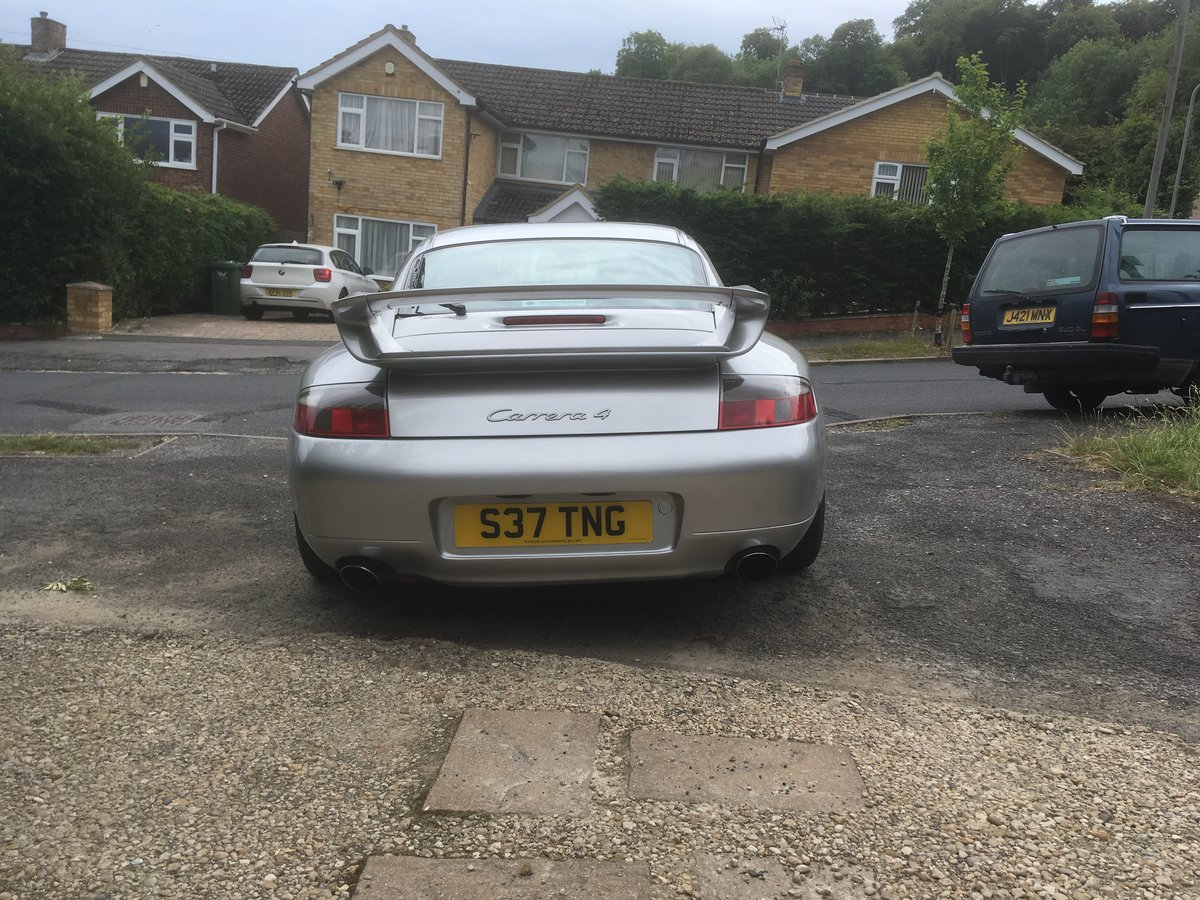 1998 Porsche 911-996 C4 GT3 Aero kit +Alloys For Sale (picture 6 of 6)