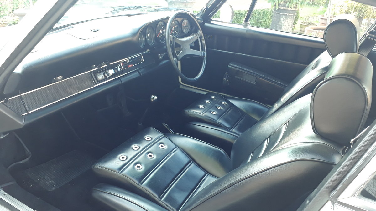 Porsche 911 E / RS 2.4 MFI 1972 Full Restoration Oel Klappe SOLD (picture 3 of 6)