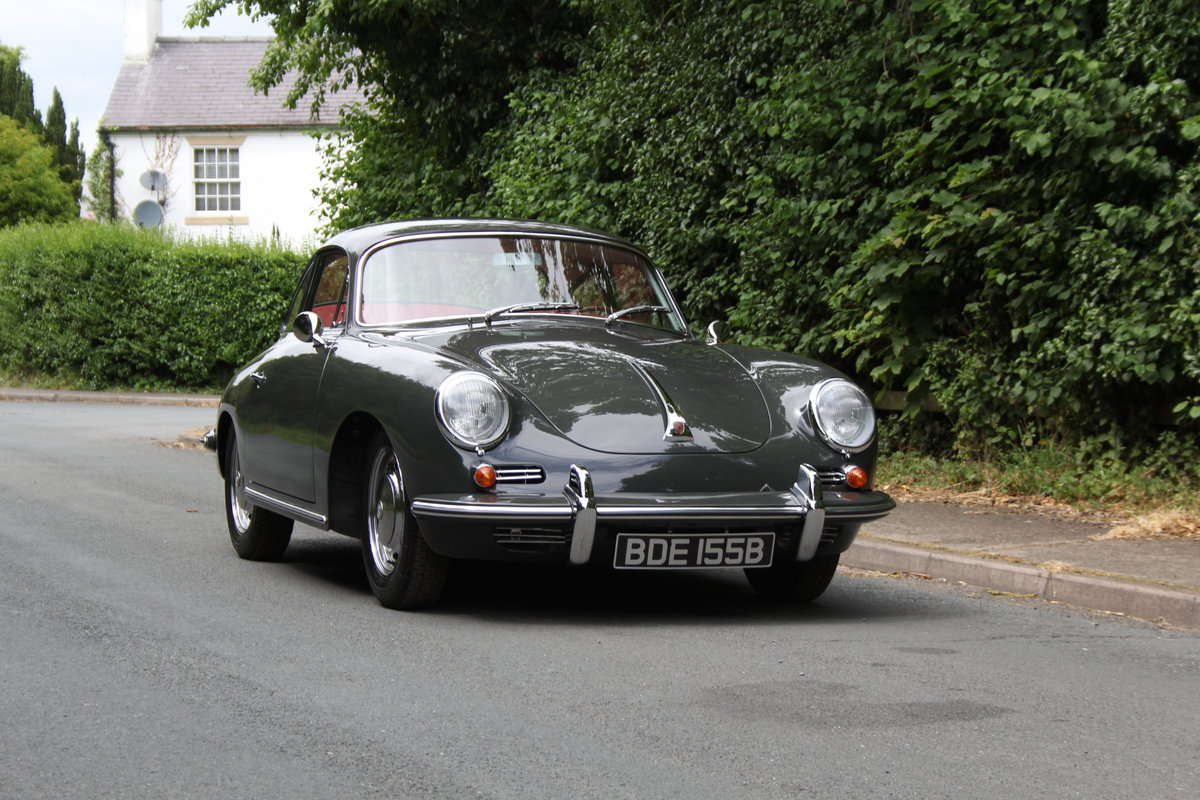 1964 Porsche 356 SC Coupe - Matching No's - Fully Restored SOLD (picture 1 of 12)