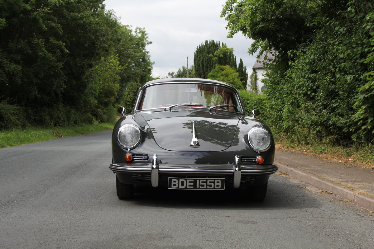 1964 Porsche 356 SC Coupe - Matching No's - Fully Restored SOLD (picture 2 of 12)