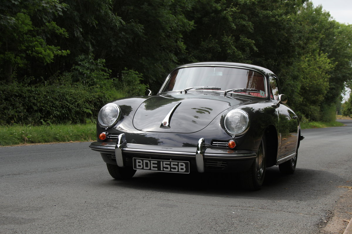 1964 Porsche 356 SC Coupe - Matching No's - Fully Restored SOLD (picture 3 of 12)