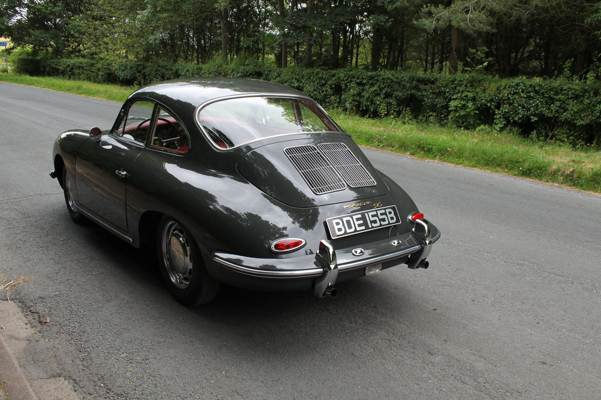 1964 Porsche 356 SC Coupe - Matching No's - Fully Restored SOLD (picture 4 of 12)