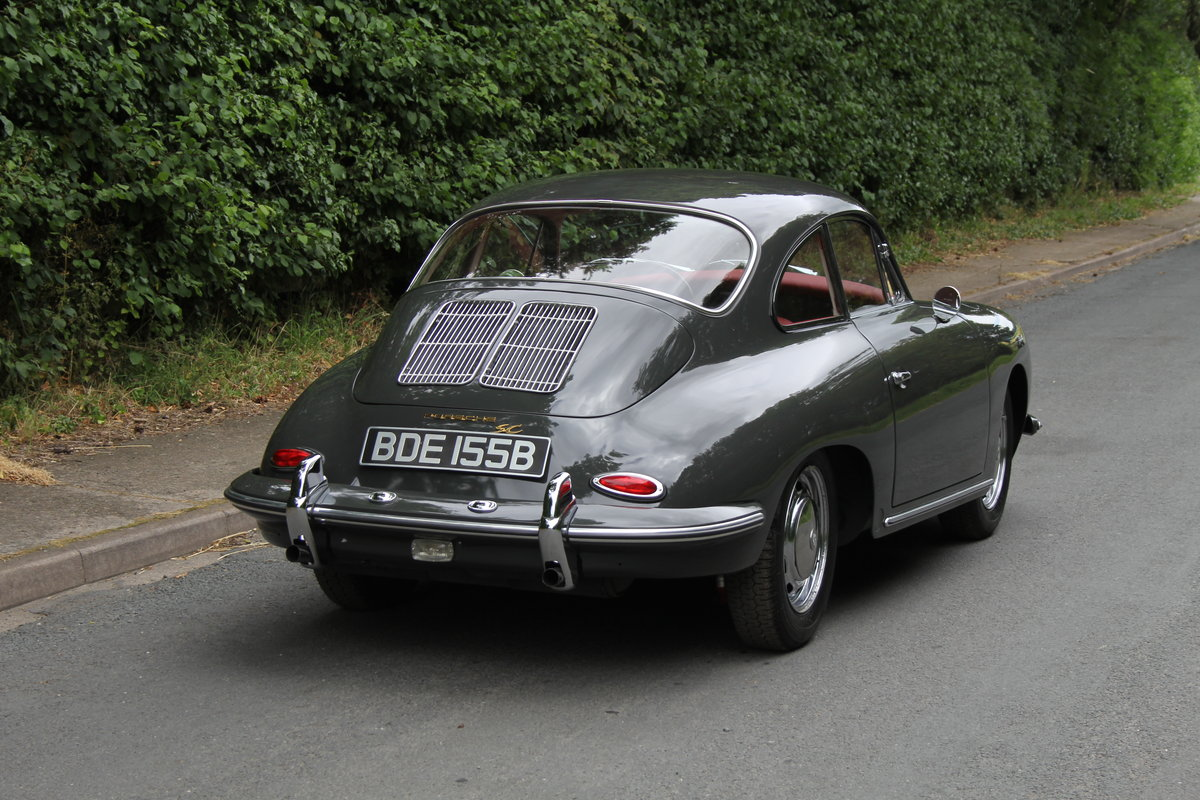 1964 Porsche 356 SC Coupe - Matching No's - Fully Restored SOLD (picture 5 of 12)